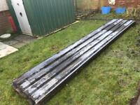 Heavy Duty Galvanised box profile Roofing Sheets.
