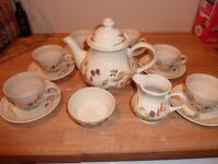 Churchill Bramble Fayre Tea Set