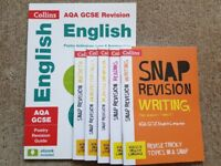 New AQA GCSE ENGLISH REVISION GUIDES