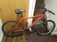 MuddyFox mountain bike 26 wheel size (Disc break) .