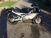 Aprilia Rs 125 with 11 month mot on 52 plate
