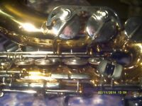 ALTO SAX by FINE GERMAN MANUFACTURER , a SUPERB ALTO the B&S, with MOUTHPIECE and CASE