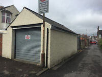 Secure Dry Garage Lockup Unit to rent Whitchurch Road Electric roller shutter door, light and power