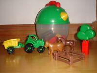Chunky farm set