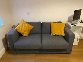 Grey Double Sofa