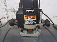 Trend Quarter Inch Router hardly top of the range.