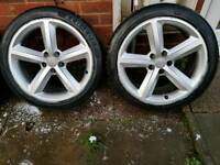 Audi A5 s line wheels