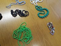 vintage necklaces £4 each necklace or offers on more - silver kitsch names - job lot...