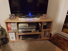 TV corner unit. Teak effect