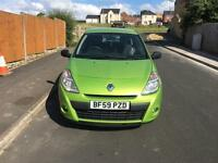 Renault Clio, 1.2, green, 2009, 2DR, manual, petrol.