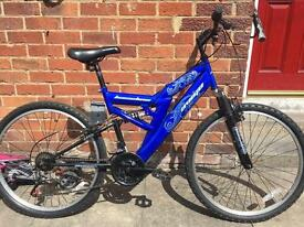 "26"" Dual suspension Mountain Bike"