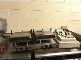 Panini grill contact grill catering resturant hotels pubs cafe equipments. Job lot