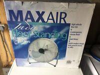 Maxair floor standing fan