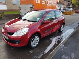 2009 58 plate Renault Clio DCI 86