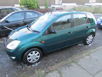 ford fiesta 2003 zetec 1.4 very clean inside and out 7