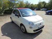 Fiat 500 C Pop (white) 2012
