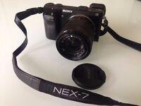 Sony Nex 7 Digital Camera with 18-55mm lens