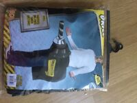 New, never used, Drill Fancy Dress outfit. one size fits most.