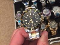 Rolex sub watch submariner automatic boxed see photos