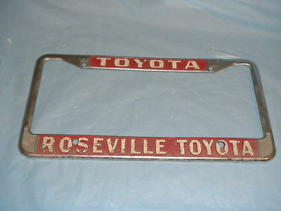 Used Toyota License Plate Frames for Sale - Page 2