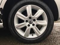 "Volkswagen Polo 6R Genuine 15"" Alloy Wheels & Tyres"