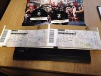 Grand National Tickets x 2 (Lord Sefton Terrace) 8th April 2017