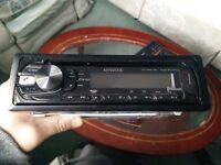 Selling nearly new car radio Kenwood KDC-BT34U
