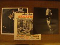LPs - Legends of French Chanson (Aznavour, Brassens, Brel)