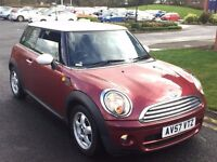 MINI COOPER 1.6 DIESEL,HPI CLEAR,2 OWNER,NEW CLUTCH&FLYWHEEL FITTED AUG 2016 FROM HALFORDS,£20 TAX