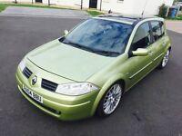Hello for sale my lovely car sport Renault Megane nice sport car diesel 5 door hatchback 04 plat