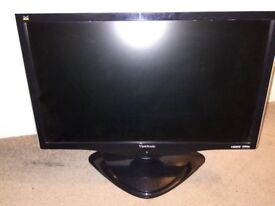 """Viewsonic VX2260WM 22"""" Widescreen 2ms LCD TFT Monitor with Speakers"""