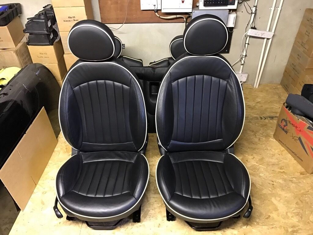 heated lounge leather seats r56 mini one cooper cooper s jcw in tandragee county armagh. Black Bedroom Furniture Sets. Home Design Ideas