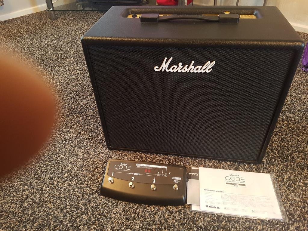 marshall code 50 amp and expression pedal in east ardsley west yorkshire gumtree. Black Bedroom Furniture Sets. Home Design Ideas