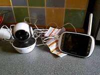 motorola hd wireless video baby monitor