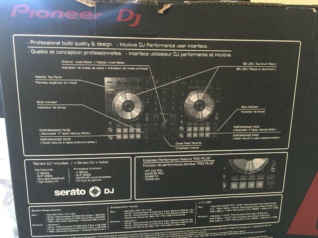Pioneer DDJ-SR controller | in Poynton, Manchester | Gumtree