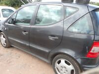 MERCEDES A190 BREAKING FOR PARTS