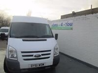 2011 ford transit 350 trend model uk van one company owner full service history derry belfast