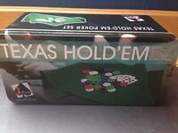 Poker Set like new never been used