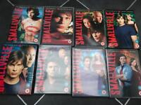 Smallville seasons 1,2,3,4,5,6,7 and 8