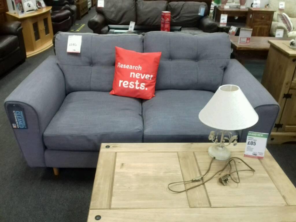 Nice Grey Fabric Sofa