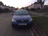 Vauxhall astra for sale coming Long MOT, drive well, cheap.