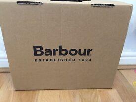 BNIB children's *Barbour wellies* NEVER USED!