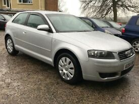 Immaculate Sept 2004 Audi A3 2.0 Tdi DSG Auto 3dr, trade in considered, credit cards accepted