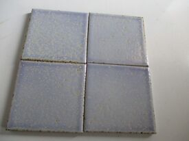 VINTAGE SMALL ITALIAN CERAMIC WALL TILES 10 X 10cm 1 BOX AND LOADS MORE
