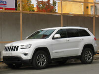 WHITE 2016 GRAND CHEROKEE JEEP 3.0 CRD LIMITED SERVICED WITH ROOF BARS £23,500