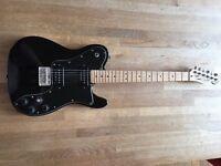 2010 Fender Squire Telecaster Custom with Seymour Duncan designed pickups (Black)