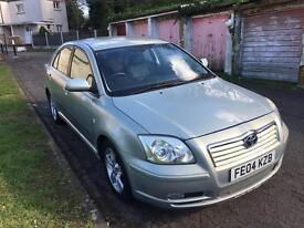 TOYOTA AVENSIS 1.8 VVT-T3-X PETROL MANUAL WITH FULL SERVICE HISTROY +3 keys