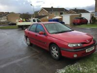 Renault Laguna 1.8 alize long mot very good runer low insurance service history drive good £330
