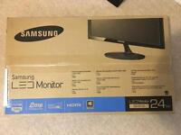 "Samsung SD300, 24"" LED Monitor BRAND NEW IN BOX"
