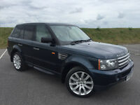 STUNNING RANGE ROVER SPORT 3.6 TDV8 VERY LOW MILEAGE WITH FULL LAND ROVER SERVICE HISTORY FROM NEW!
